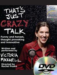 Just Crazy Talk, DVD cover art